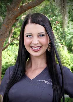 Sara-certified-orthodontic-assistant Pappas and Tapley Orthodontics Gainesville, FL